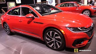 2019 Volkswagen Arteon R-Line - Exterior and Interior Walkaround - 2019 Chicago Auto Show