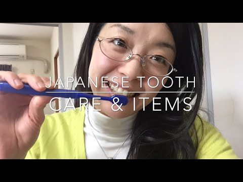 Japanese tooth care & Items