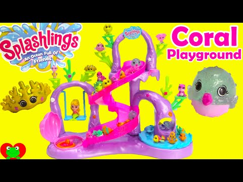 Splashlings Blind Bags and Coral Playground