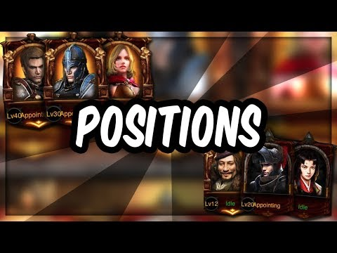 THE NEW HERO POSITION SYSTEM WILL BE AMAZING & PEOPLE DONT REALIZE IT YET - Clash Of Kings