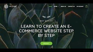 إنشاء موقع للتجارة الإلكترونية - 2019   خطوة بخطوة   وورد, أسترا, Elementor, التجارة وو, AWS