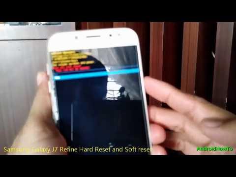 Samsung Galaxy J7 Refine Hard Reset and Soft reset