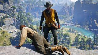 Red Dead Redemption 2 - Epic Brutal & Funny Moments Compilation #16