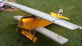 Big Biplane Bash 2013   Stans Fokker DVII