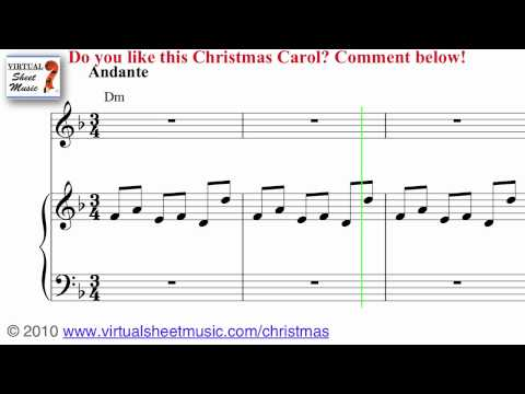 Carol of the Bells Sheet Music and Carol - Christmas Sheet Music Video Score