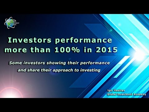Investors performance more than 100% in 2015