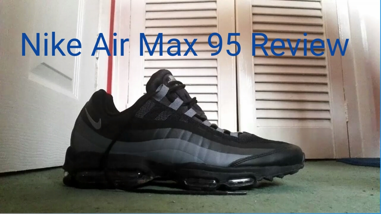 Nike Air Max 95 Ultra Essential Review YouTube