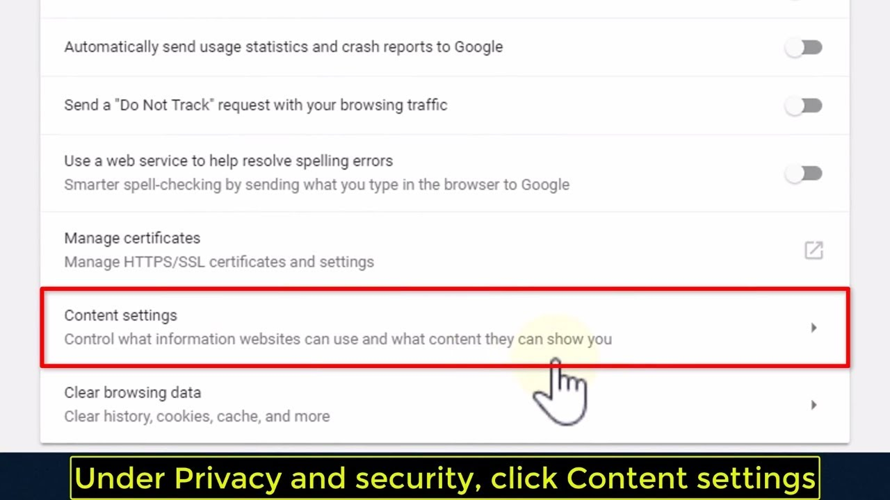 How To Disable Notifications In Google Chrome Tutorial Youtube