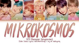 Gambar cover BTS (방탄소년단) - Mikrokosmos (소우주) (Color Coded Lyrics Han/Rom/Eng)