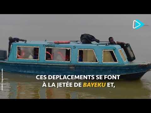 Nigeria à Lagos, le bateau taxi pour vaincre l'enfer des bouchons