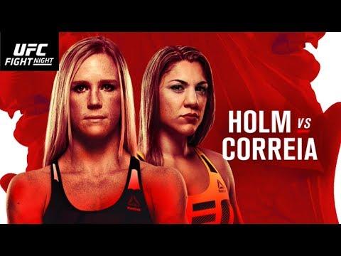 EA UFC 2 - Fight Night Singapore - Holm vs Correia - LIVE EVENT: PICK & PLAY (PREDICTIONS)