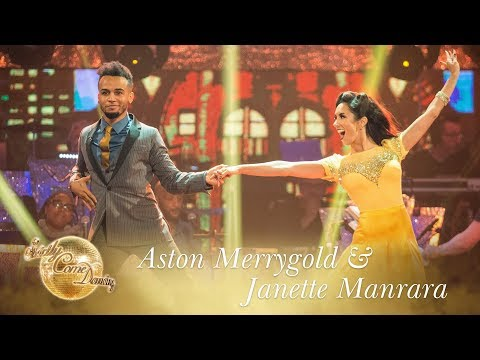 Aston Merrygold and Janette Foxtrot to 'It Had To Be You' - Strictly Come Dancing 2017