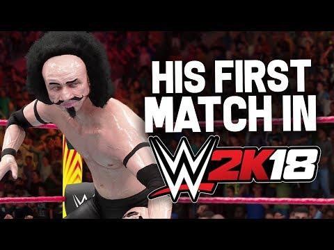 Mr. Steal Yo Girl's FIRST WRESTLING MATCH!! (WWE 2K18)  