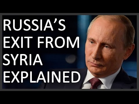 Russia's withdrawal from Syria explained