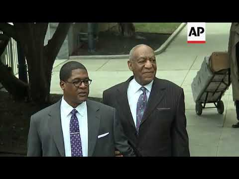 Topless Woman Charges Bill Cosby at Retrial