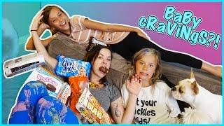 pregnancy cravings taste test