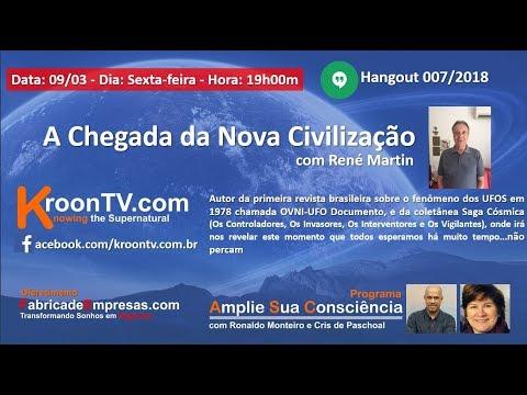 KroonTV- A Chegada da Nova Civilização com René Martin