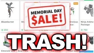 Roblox's 2019 Memorial Day Sale was the Worst Sale Ever