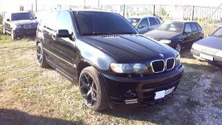 2001 bmw x5 start up engine and in depth tour