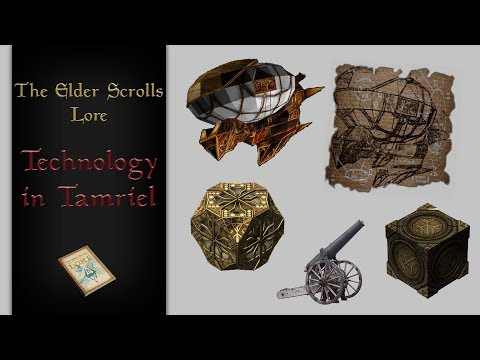 Why is technology not advancing on Tamriel? - The Elder Scrolls Lore