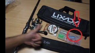 Telescopic Fishing Rod and Reel Combo Full Kit (UNBOXING)