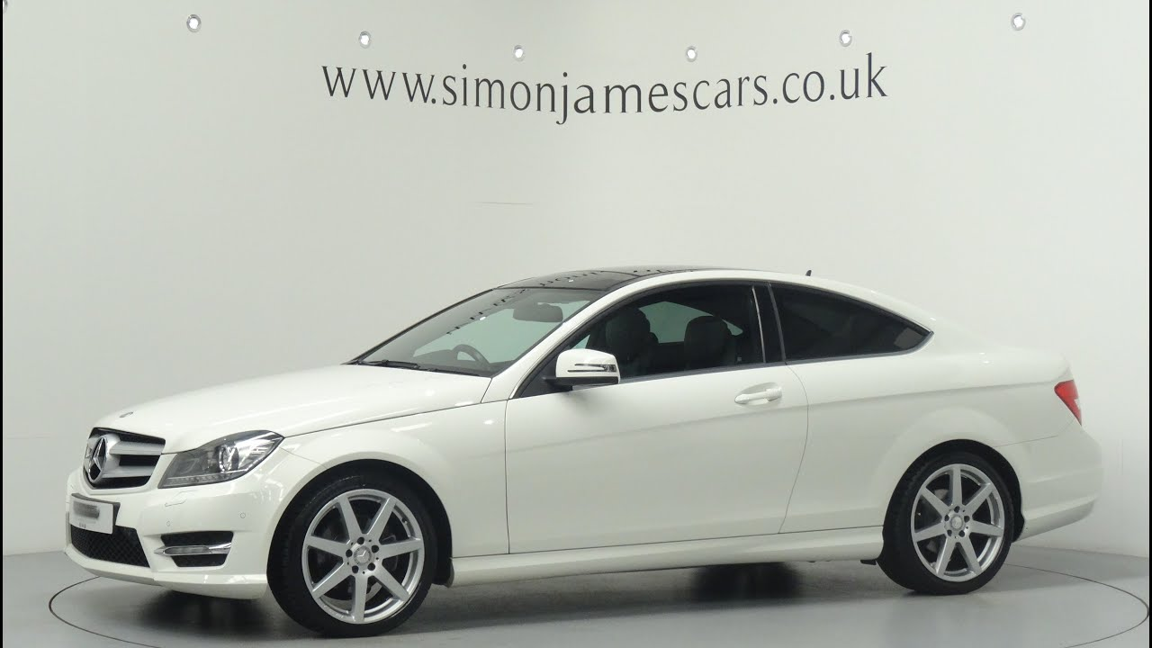mercedes benz c180 amg sport coupe - youtube