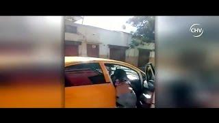 Hombre arrastró por una cuadra a su ex pareja usando su vehículo - CHV Noticias