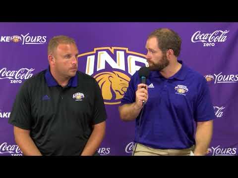 University of North Alabama Soccer Practice 8 21 2017