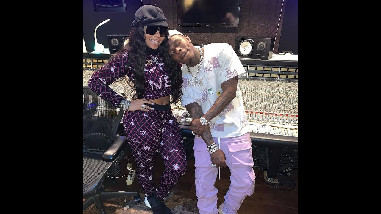 Da Baby & Ashanti in the studio making NASTY - YouTube