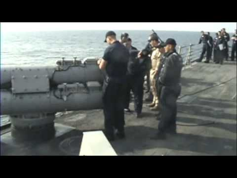 torpedo firing