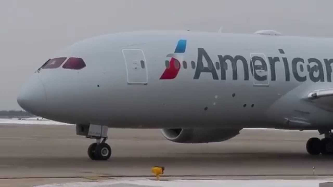 American Airlines Boeing 787 8 Dreamliner N800an Very