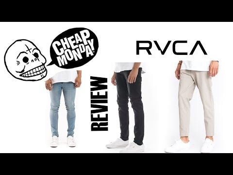 New Denim from MLTD (Cheap Monday & RVCA) Review + On Body