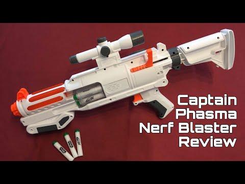 Honest Review: Nerf Captain Phasma Star Wars Blaster