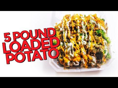 5lb Loaded Baked Potato Challenge w/ Nathan Figueroa!!