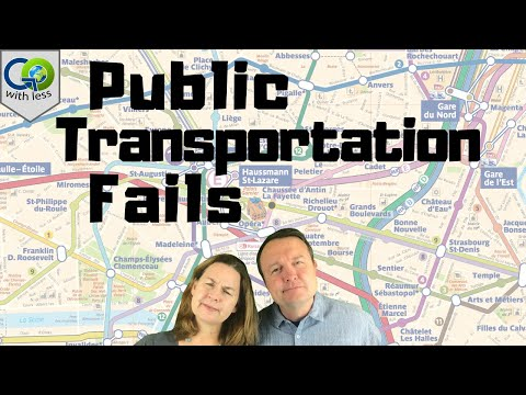 Our Public Transportation Fails in Europe! (learn from our mistakes)