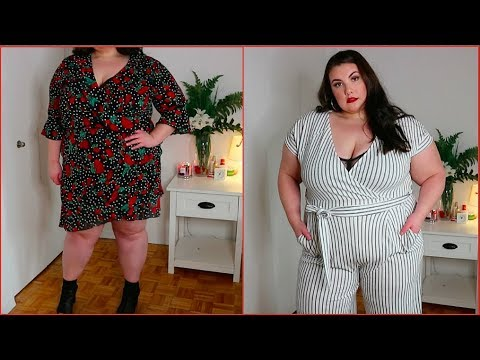special selection of well known world-wide renown OK QUIZ CLOTHING?!! PLUS SIZE CLOTHING TRY ON HAUL!!