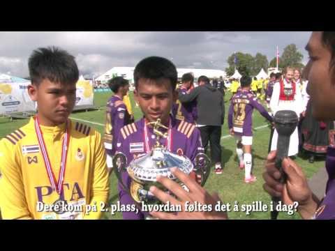Norway Cup finale G14, Bangkok Christian College - KFUM Oslo
