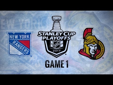 Karlsson, Anderson lift Sens past Rangers in Game 1