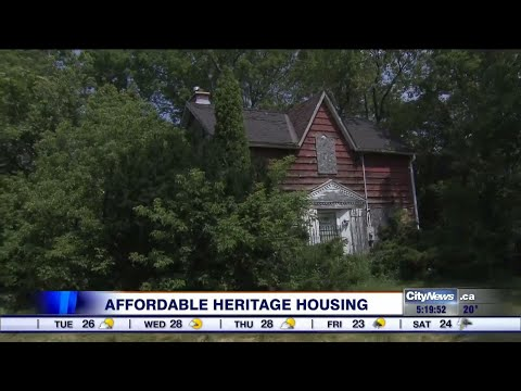 Converting heritage homes to affordable housing
