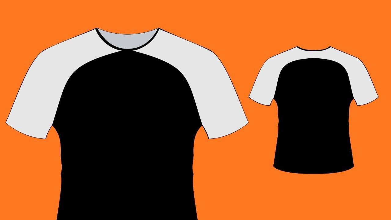 Como Criar Modelos De Camisas No Coreldraw 1 Edesign