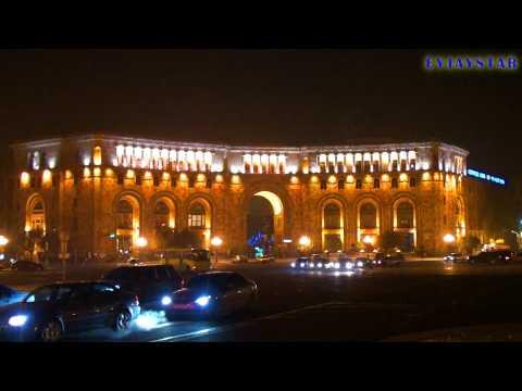 Republic Square of Yerevan in December 2011.
