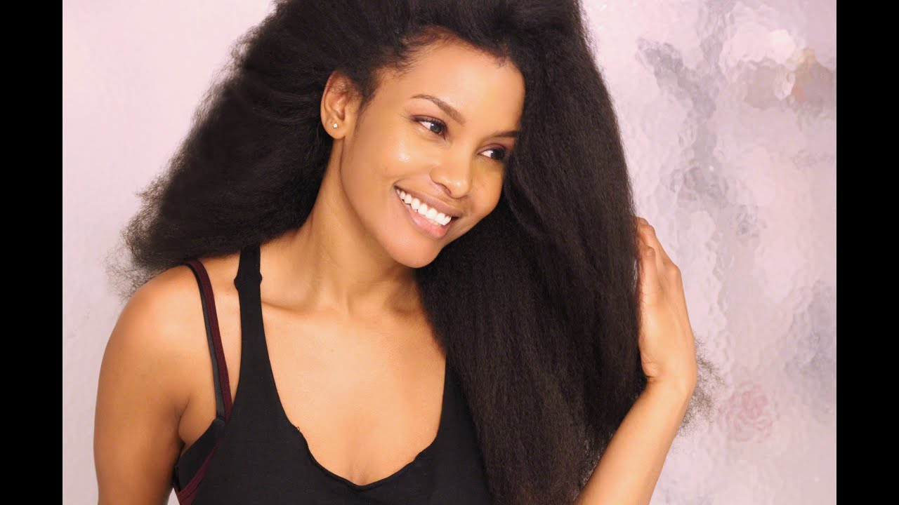How To Straighten Hair Without Heat Professional Heatless Hair