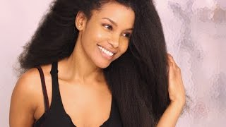 (NO HEAT DAMAGE) How I safely blow-dry my natural, low porosity hair