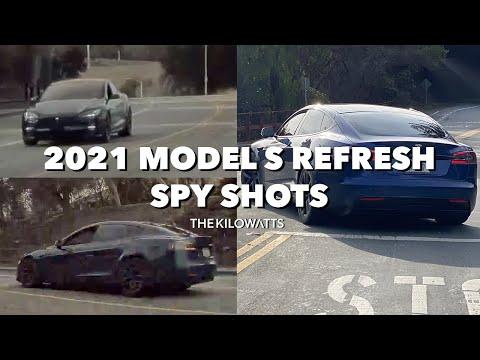2021 MODEL S REFRESH SPY SHOTS! Chrome Delete, Wide Body, Rear Diffuser, & New Wheels! IS IT PLAID?