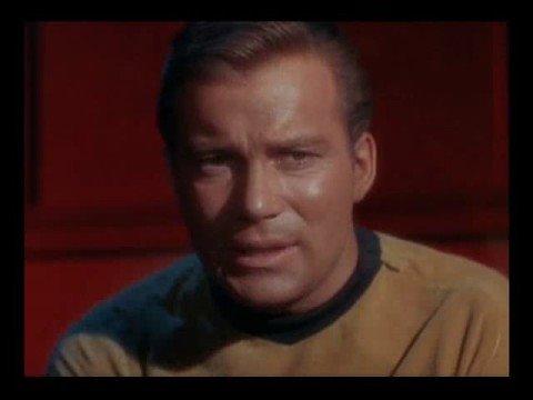 Portrait Of William Shatner as Captain James T. Kirk Part 1