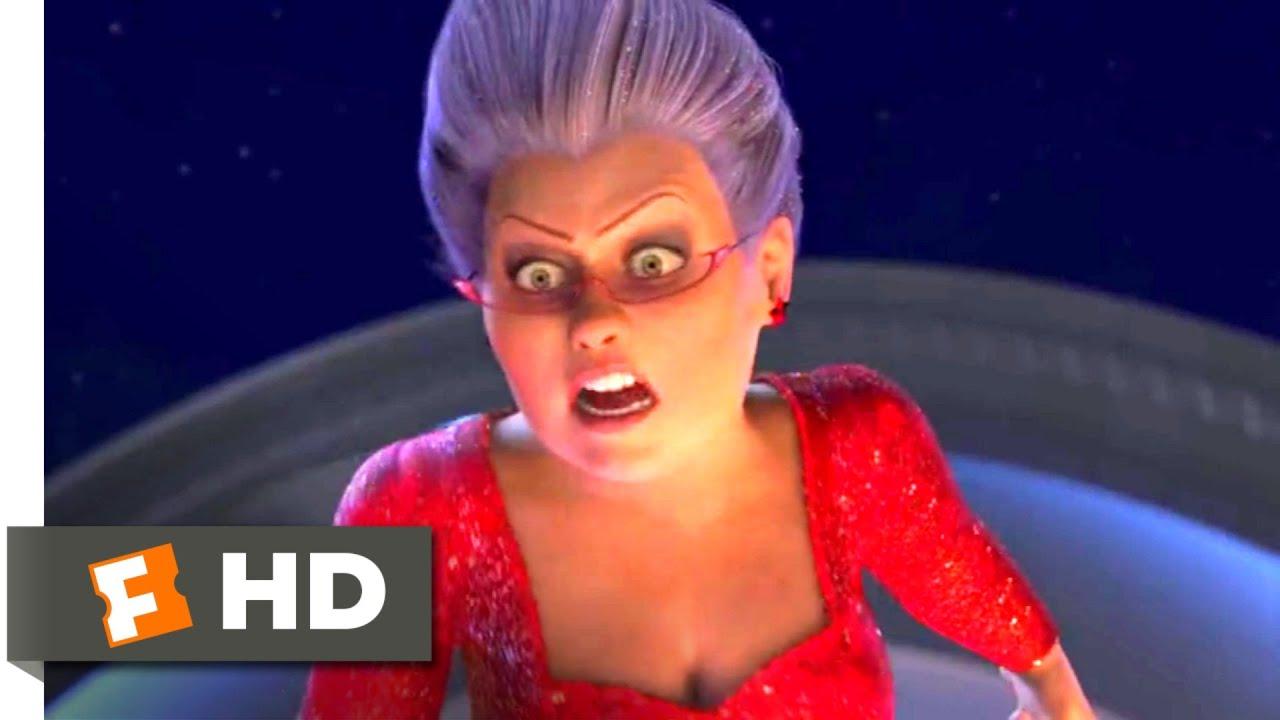 Shrek 2 2004 Fighting The Fairy Godmother Scene 8 10 Movieclips Youtube