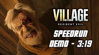 Resident Evil 8 Village: Village Demo - Hardcore Mode Speedrun in 3:19