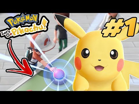 Pokemon Let's Go Pikachu, Let's Go Eevee FIRST Let's Play EVER! Episode #1/3 GAMEPLAY