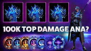 Ana Nanoboost - 100k TOP DAMAGE ANA? - B2GM Season 7(Silver 2)