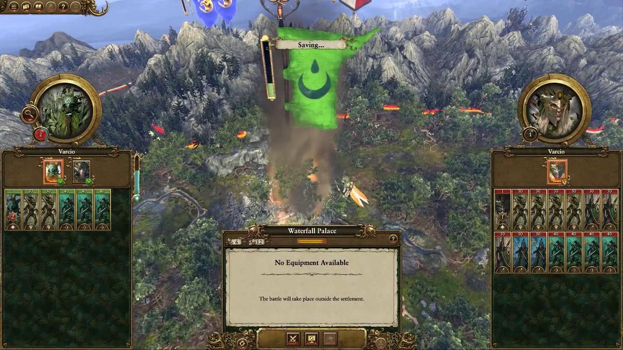 Total War: Warhammer - Wood Elves - Durthu - First 25 turn Guide - YouTube